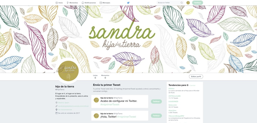 Branding, diseño web. Sanadora espiritual. 8