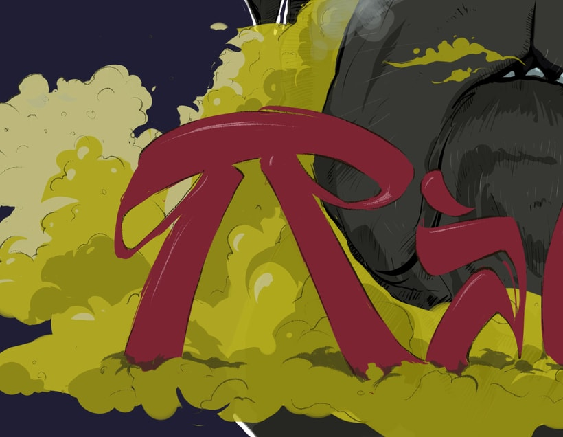Portada de ''Ràbia'' nuevo tema de Espunyea 14