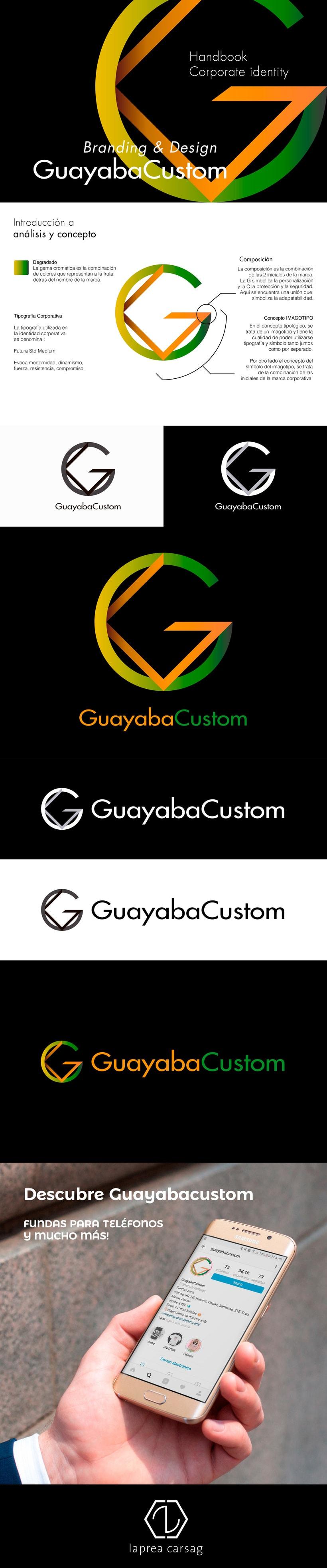 Marca corporativa Guayabacustom 0