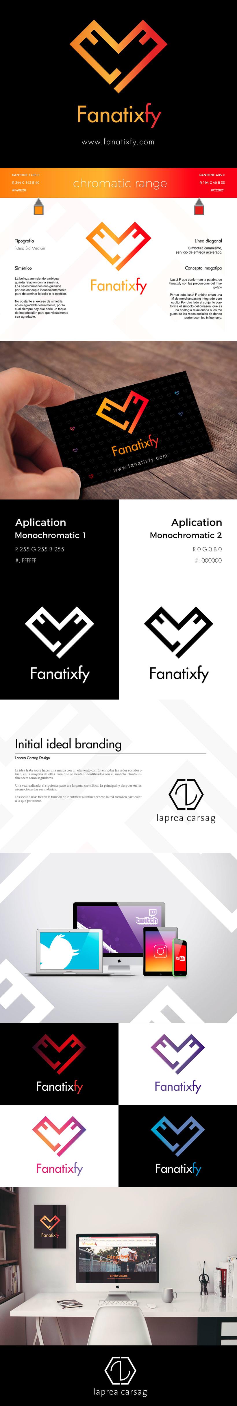 Marca corporativa Fanatixfy -1