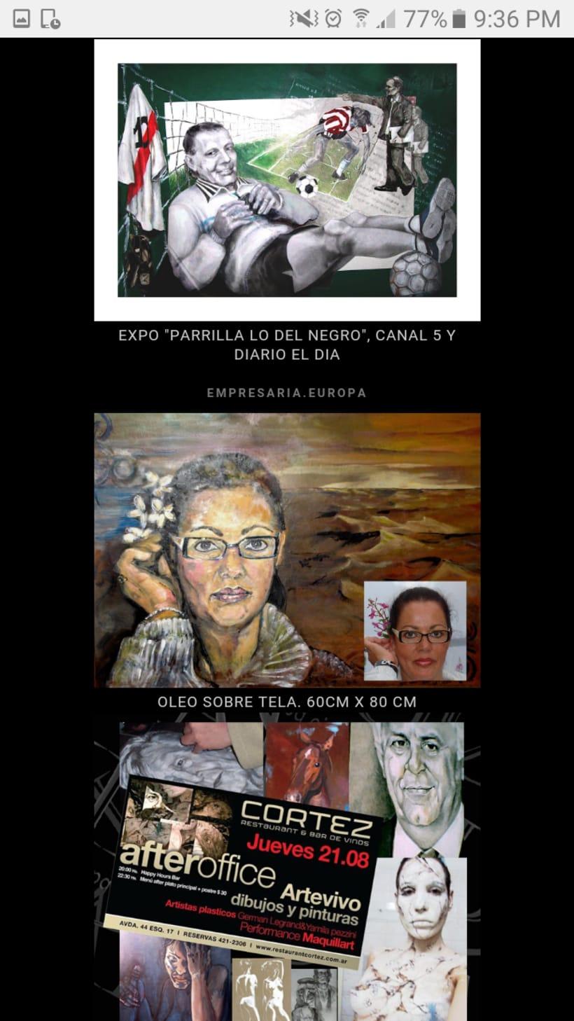 Retratos y cuadros vs. 16