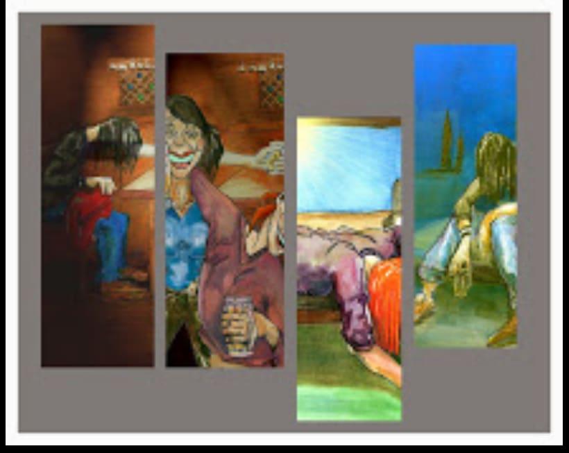 Caricaturas. Retratos y personajes.. 20