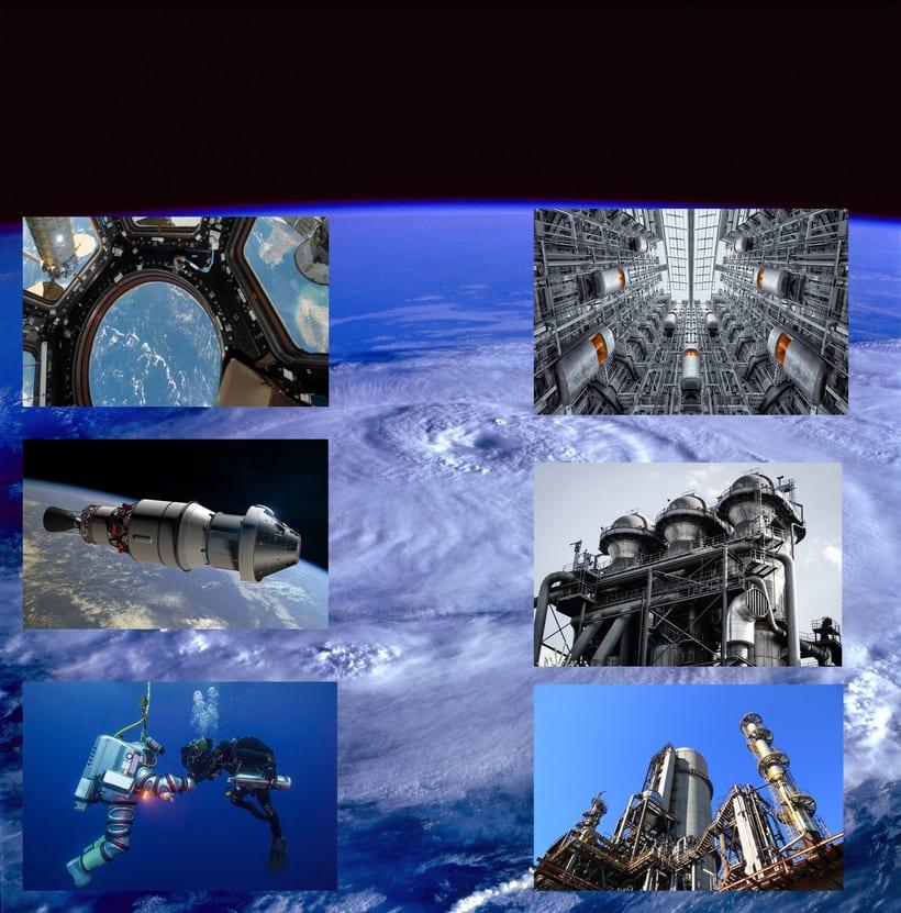 Un día más en el espacio. 0