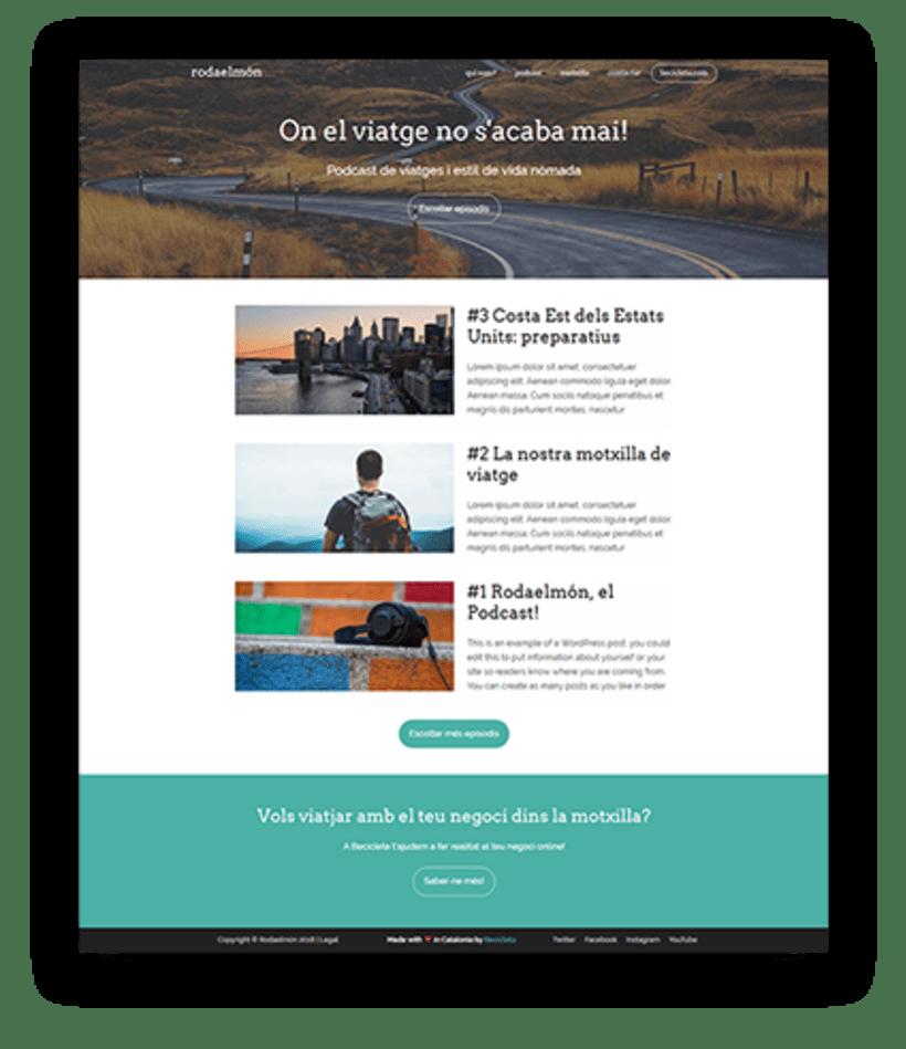 Diseño y desarrollo WordPress para Rodaelmón | Jordi Garcia Codina 2