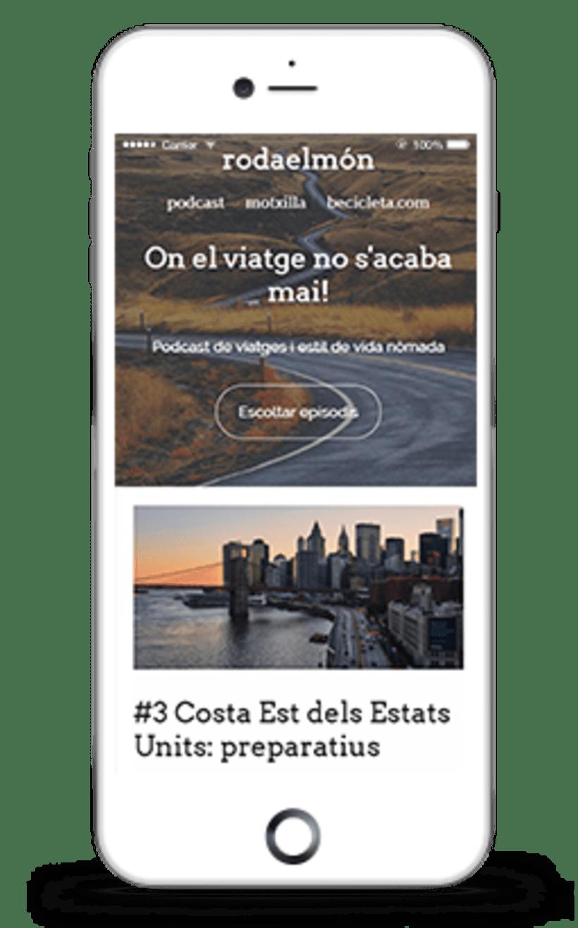Diseño y desarrollo WordPress para Rodaelmón | Jordi Garcia Codina 1