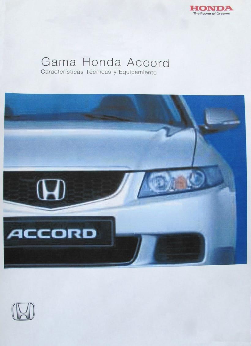 Maquetació díptic Honda Accord -1