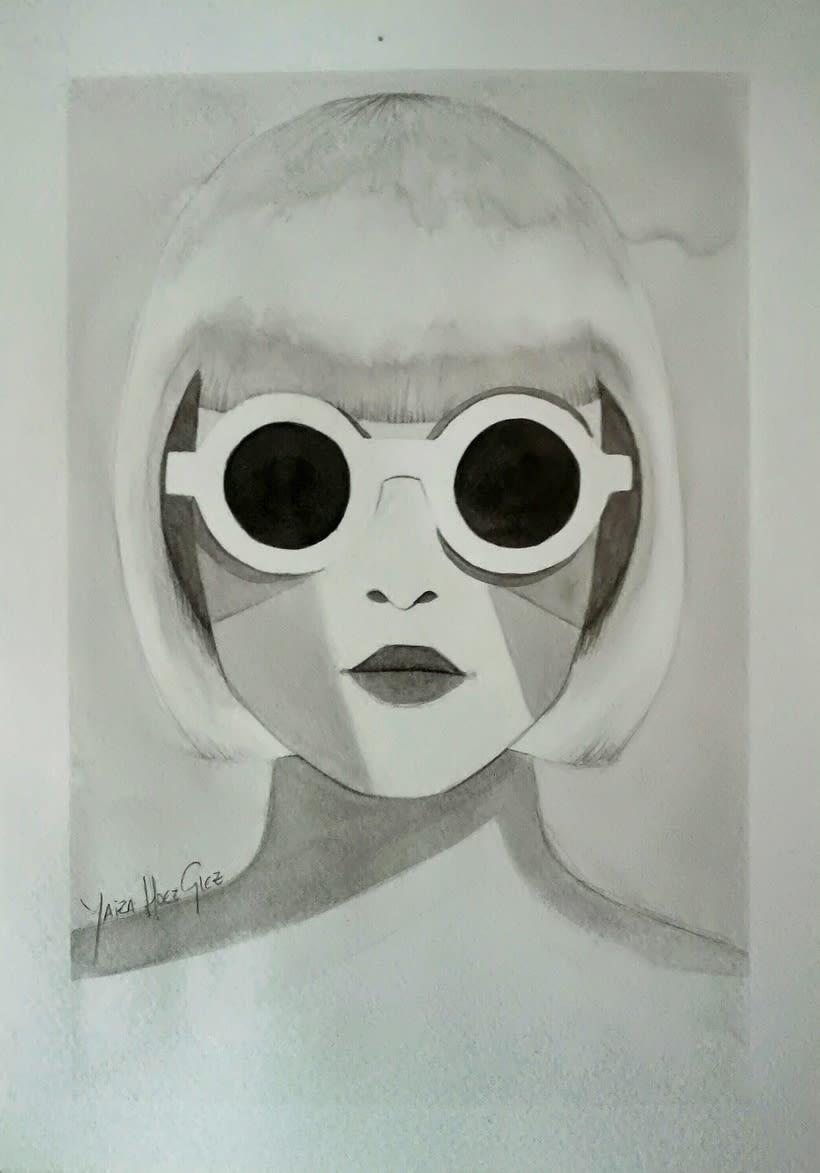 Mi Proyecto del curso: Introducción a la ilustración con tinta china -1
