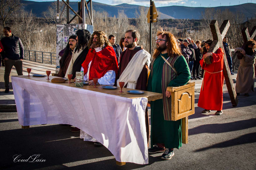 "17/02/2018 - Carnaval de Bembibre, El Bierzo, grupo ""Matachana"" Carnaval Santo -1"