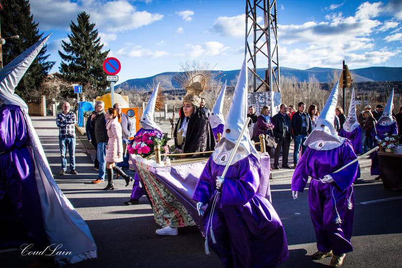 "17/02/2018 - Carnaval de Bembibre, El Bierzo, grupo ""Matachana"" Carnaval Santo 2"