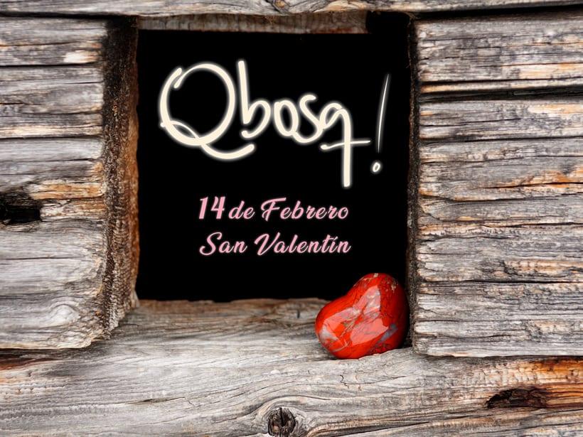 Carteles San Valentínn Qbosq 0