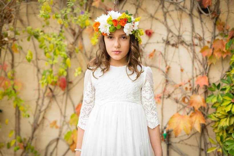 Editorial de moda (vestidos de comunión) 1