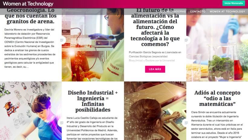 Páginas web - CMS, WIX y Wordpress 2