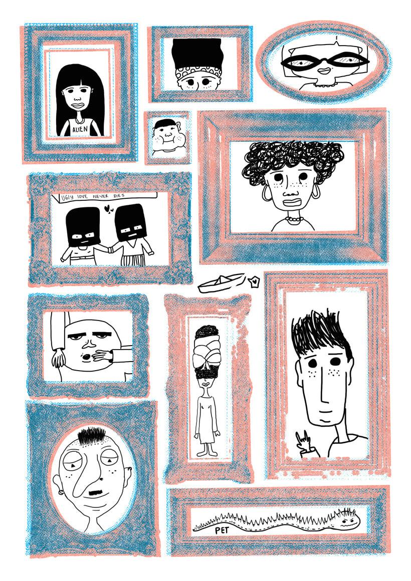 Mi Proyecto del curso: Ilustración original de tu puño y tableta 1