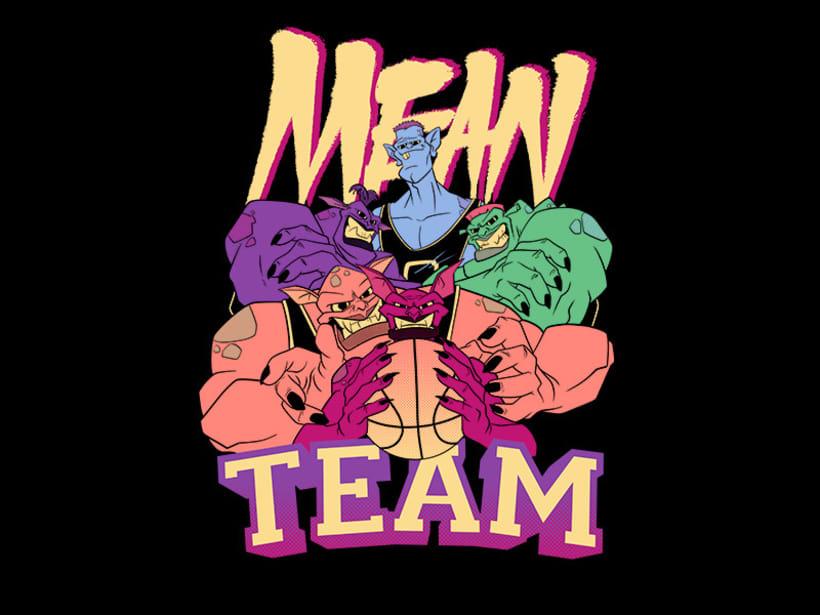 Mean team -1