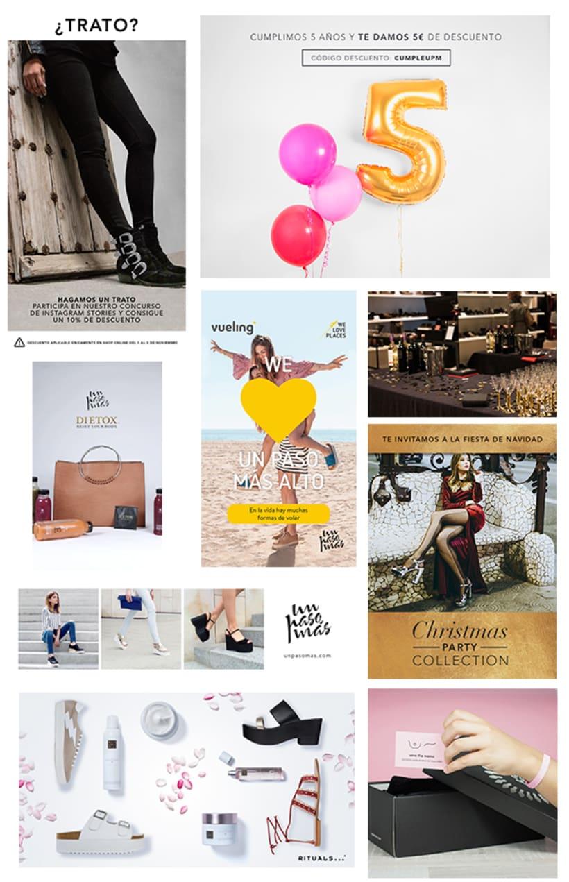 Diseño gráfico y gestión del proyecto web de unpasomas.com 0