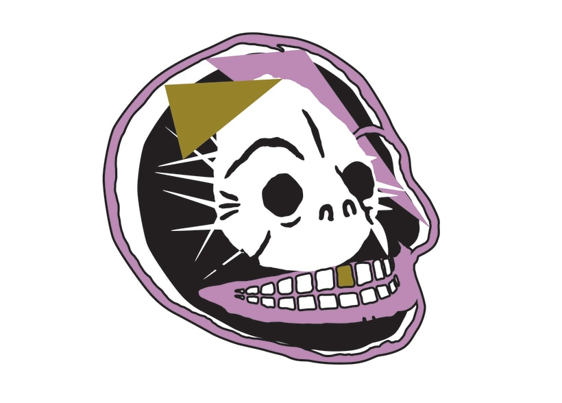 Cheap Monday skull logo competition -1