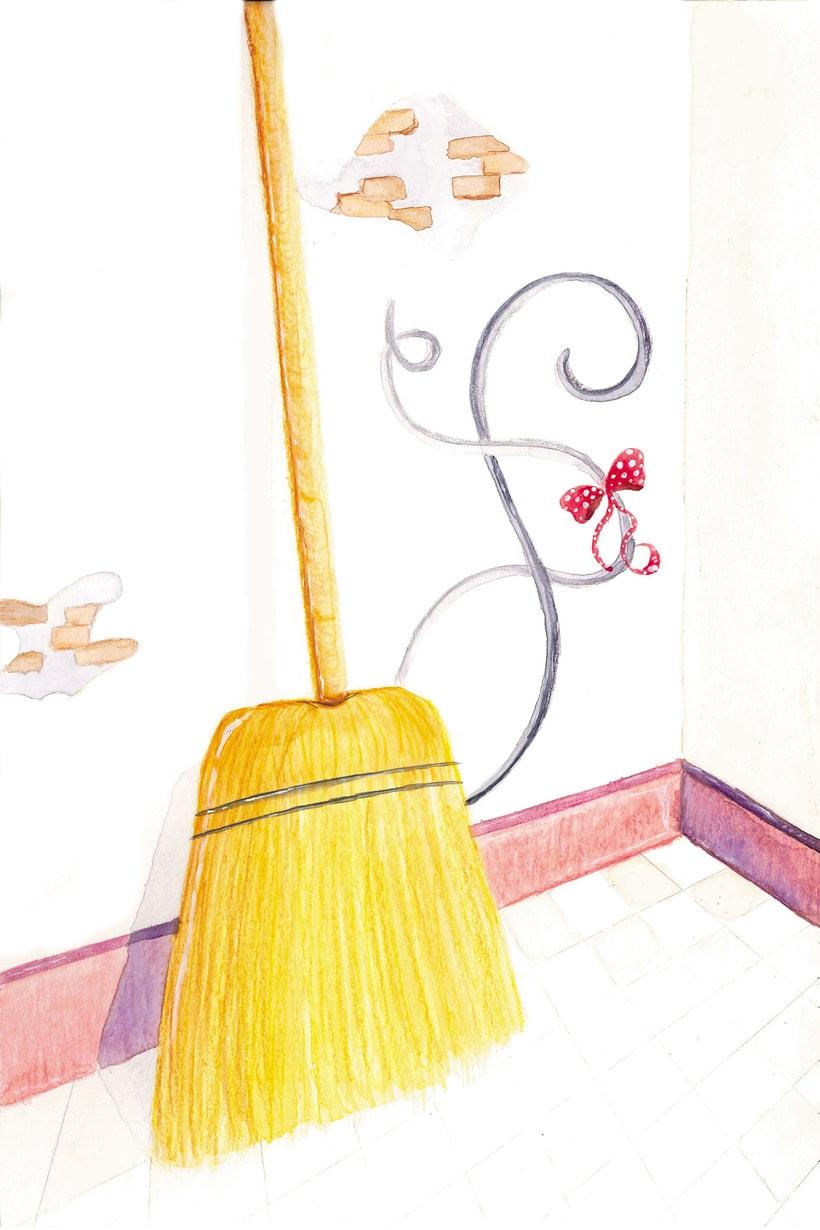 """Ilustración del cuento """"La ratita presumida"""" -1"""