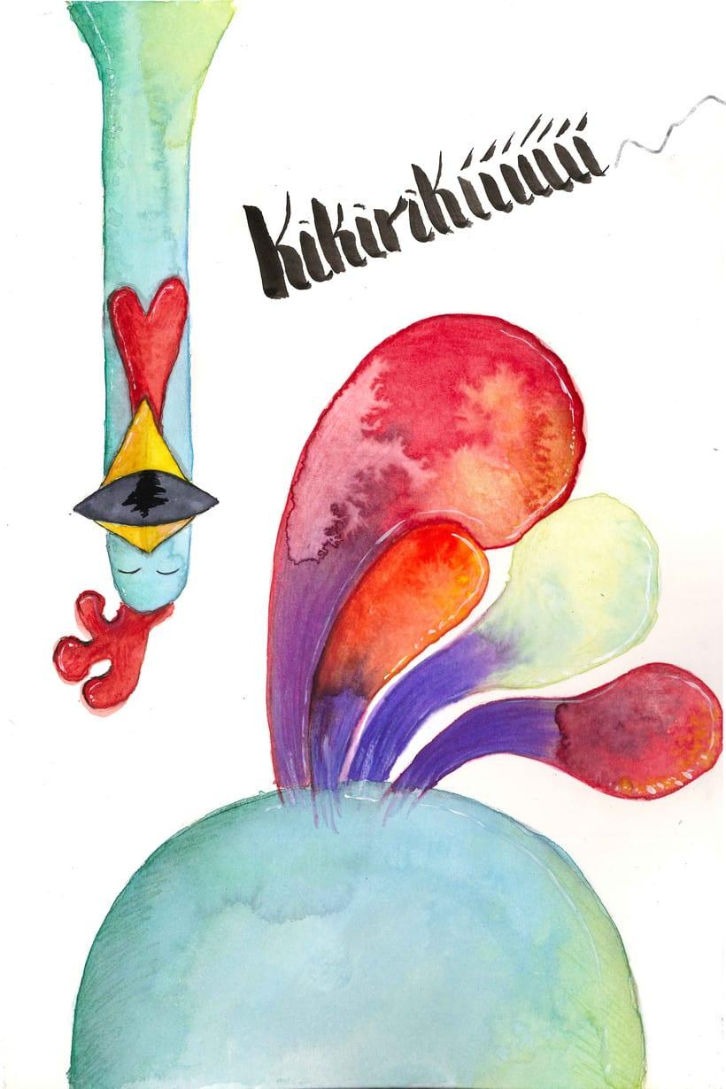 """Ilustración del cuento """"La ratita presumida"""" 0"""