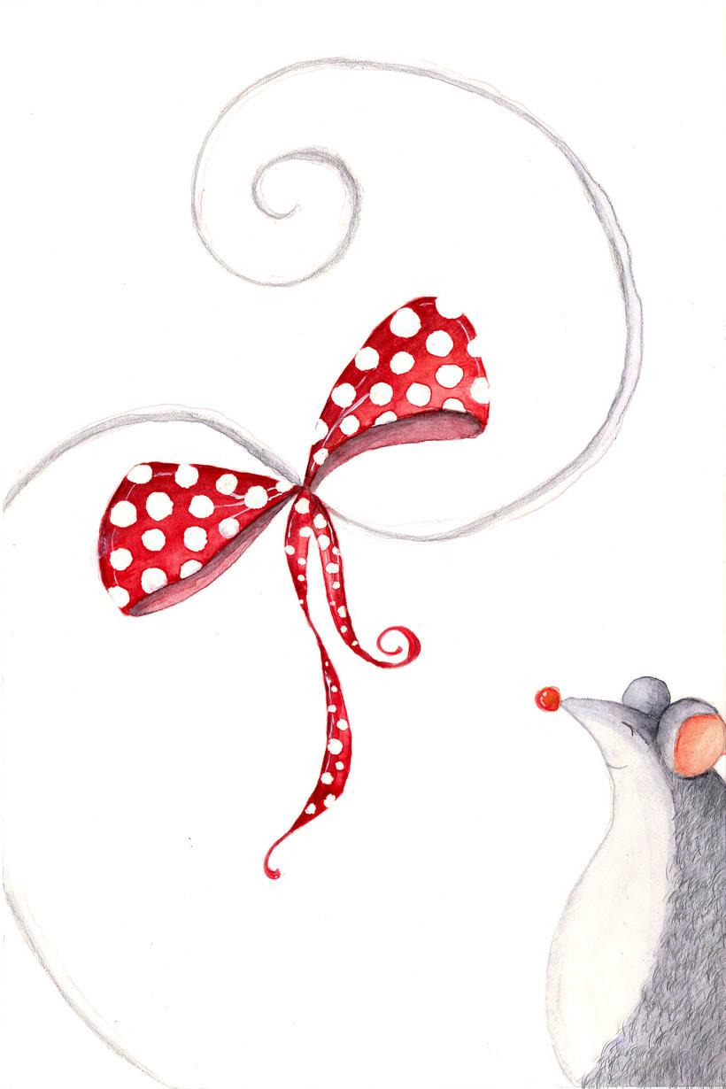 """Ilustración del cuento """"La ratita presumida"""" 2"""
