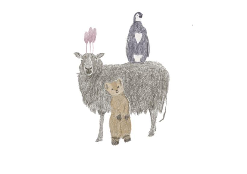 Mi Proyecto del curso: Ilustración digital. con lápices de coloresb 1