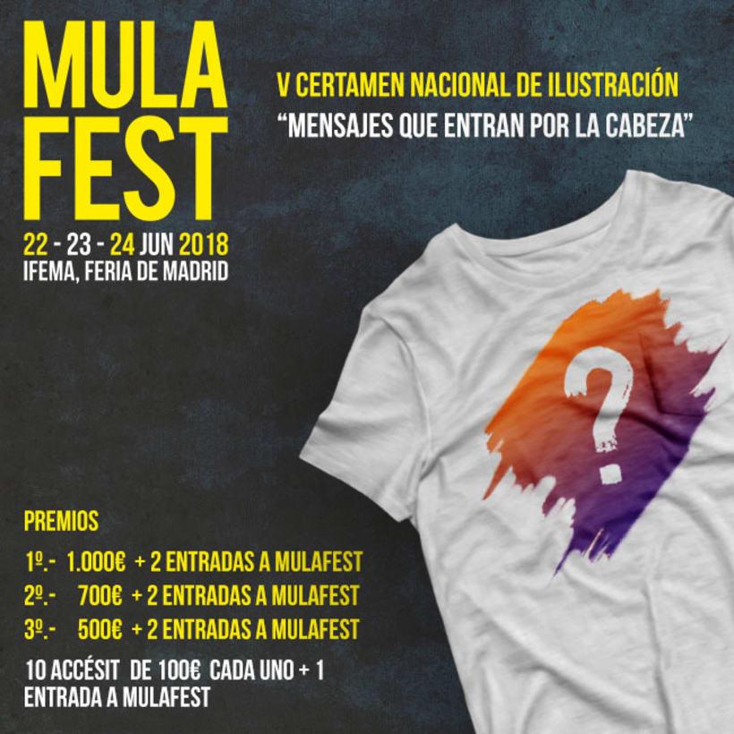 V certamen nacional de ilustración Mulafest - DGT 1
