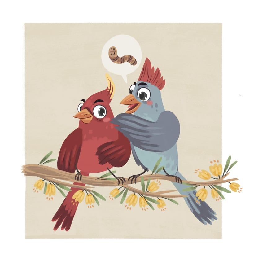 Pájaros - serie- 0