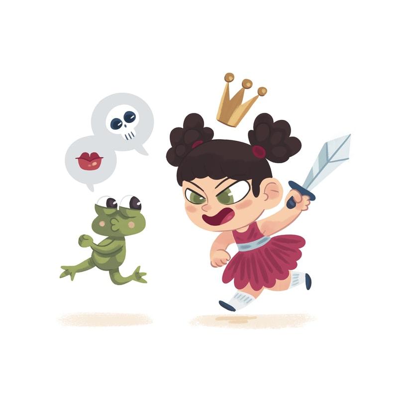 La princesa y la rana 2
