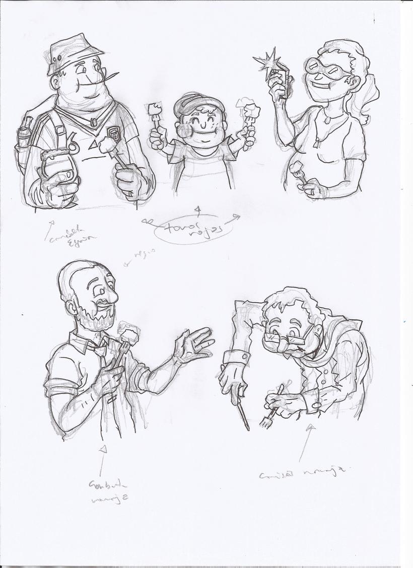 Tortilla de patatas: the game-diseño-ilustración y maquetación-juego de mesa 5