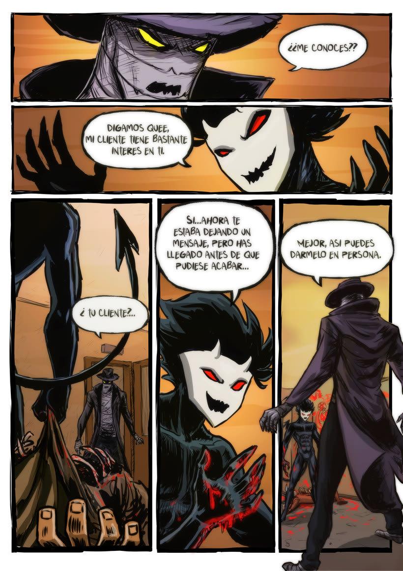 nuevas paginas de Detective Misterio 14