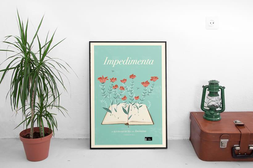 Editorial Impedimenta - Logo y Poster 0