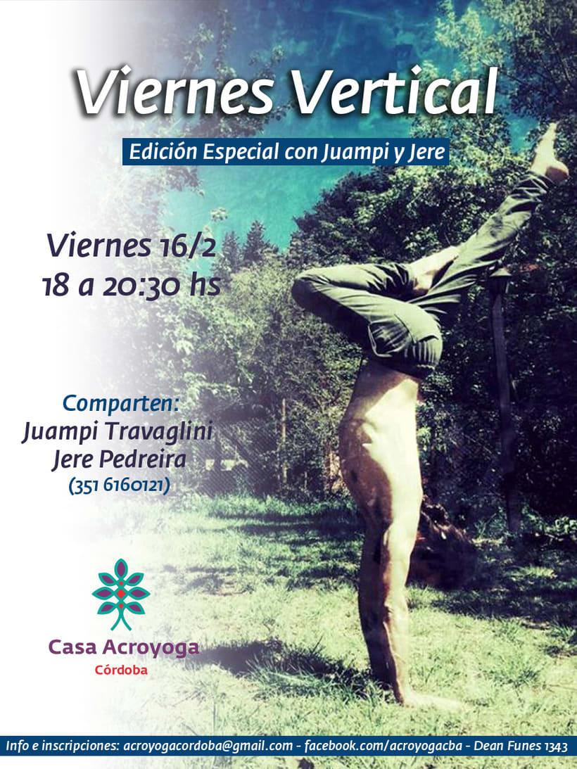Flyers para Casa Acroyoga Córdoba 9