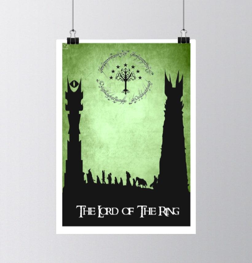 Poster El señor de los anillos 0