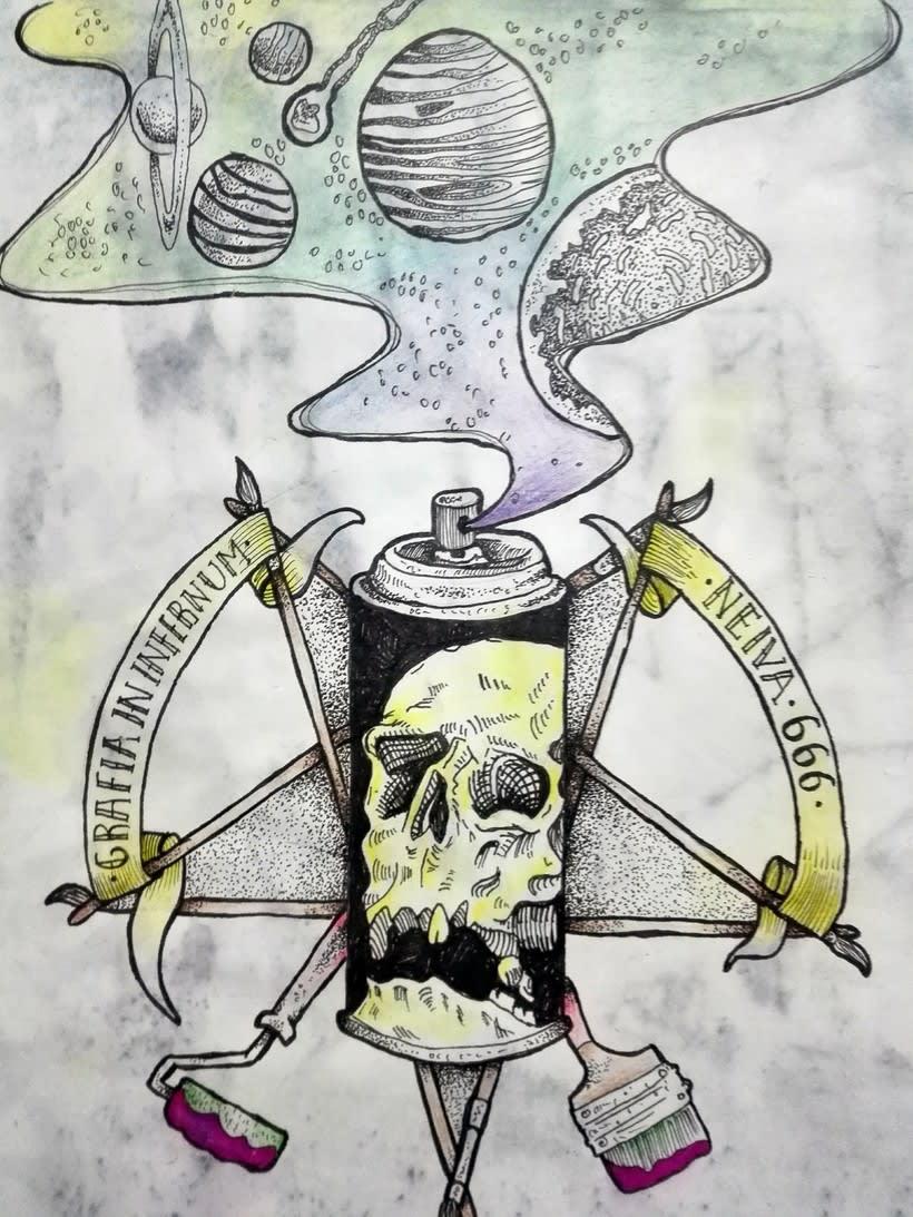 GRAFFITI IN INFERNUM 1