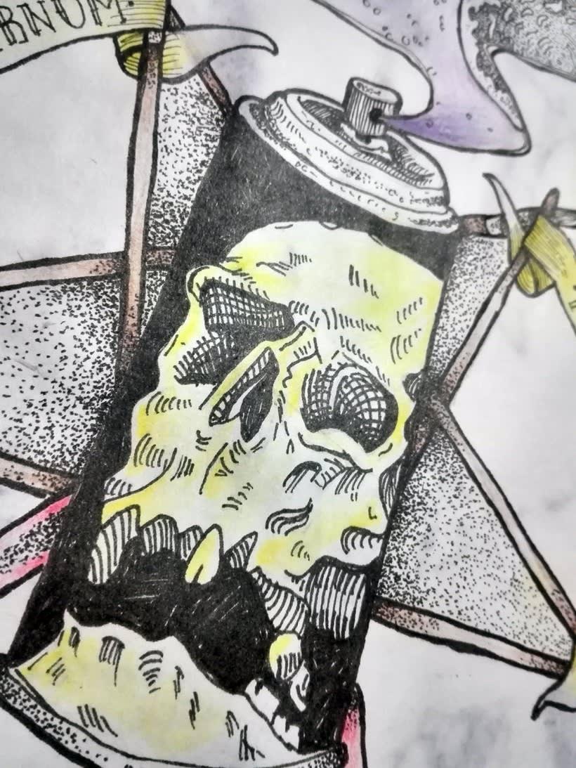 GRAFFITI IN INFERNUM 2