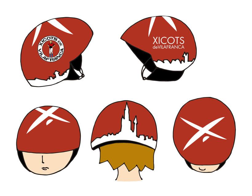 Diseño casco protección  1