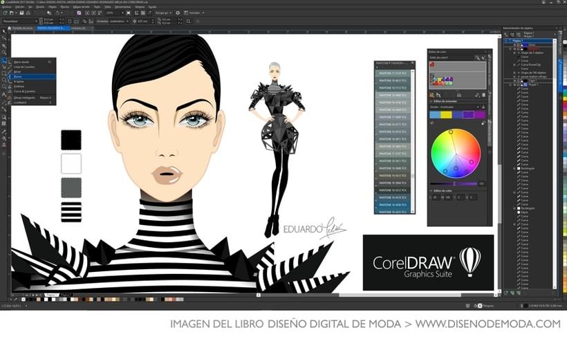 Diseño de moda por ordenador diseño de moda con coreldraw.