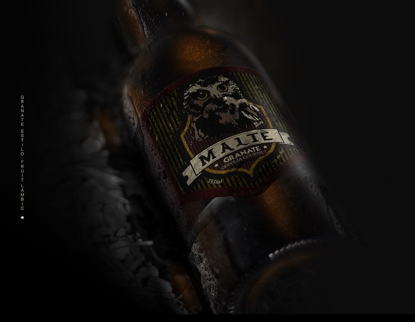 MALTÉ cerveza Gourmet (Branding/Packaging) -1