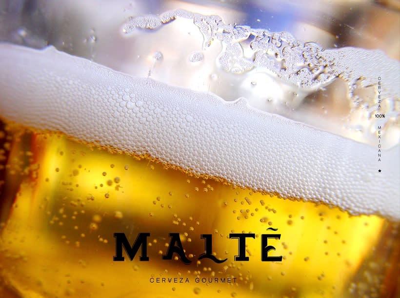 MALTÉ cerveza Gourmet (Branding/Packaging) 4