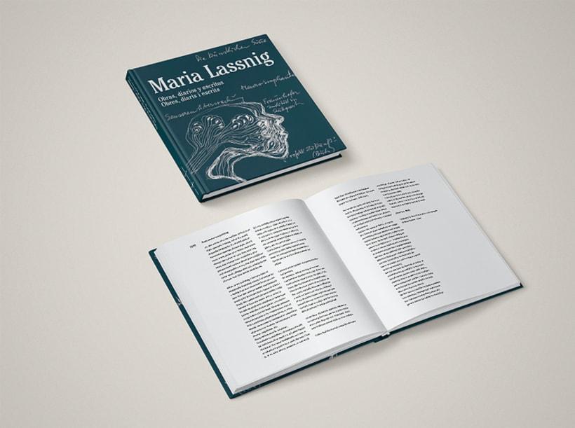 MARIA LASSNIG. Obras, diarios y escritos.  -1