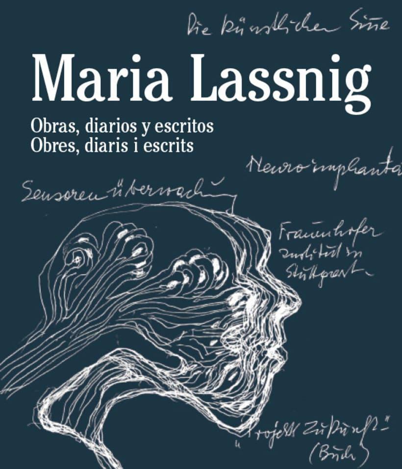 MARIA LASSNIG. Obras, diarios y escritos.  3