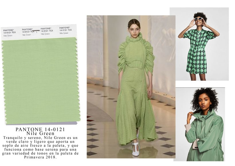 "PV18 Color tendencia; Pantone ""Nile Green Colour""  1"