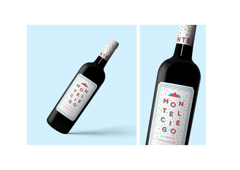 Etiqueta Vino - Montelciego 0
