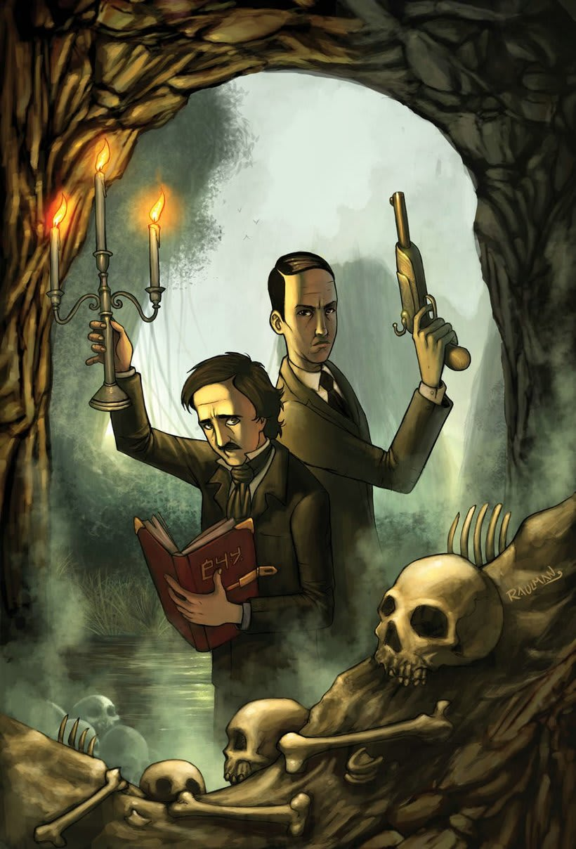 Poe & Phillips published for Arcana Comics  1