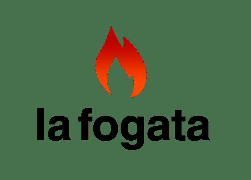 La Fogata: Identidad corporativa bi y tridimensional 2