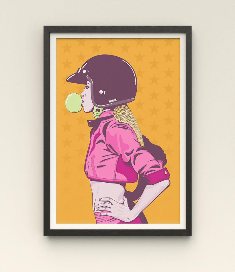 Women Series - Ilustración Digital 0