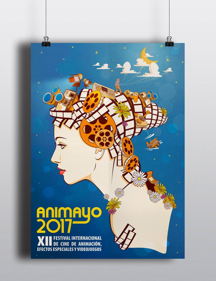 Cartel Preseleccionado Animayo 2017 0