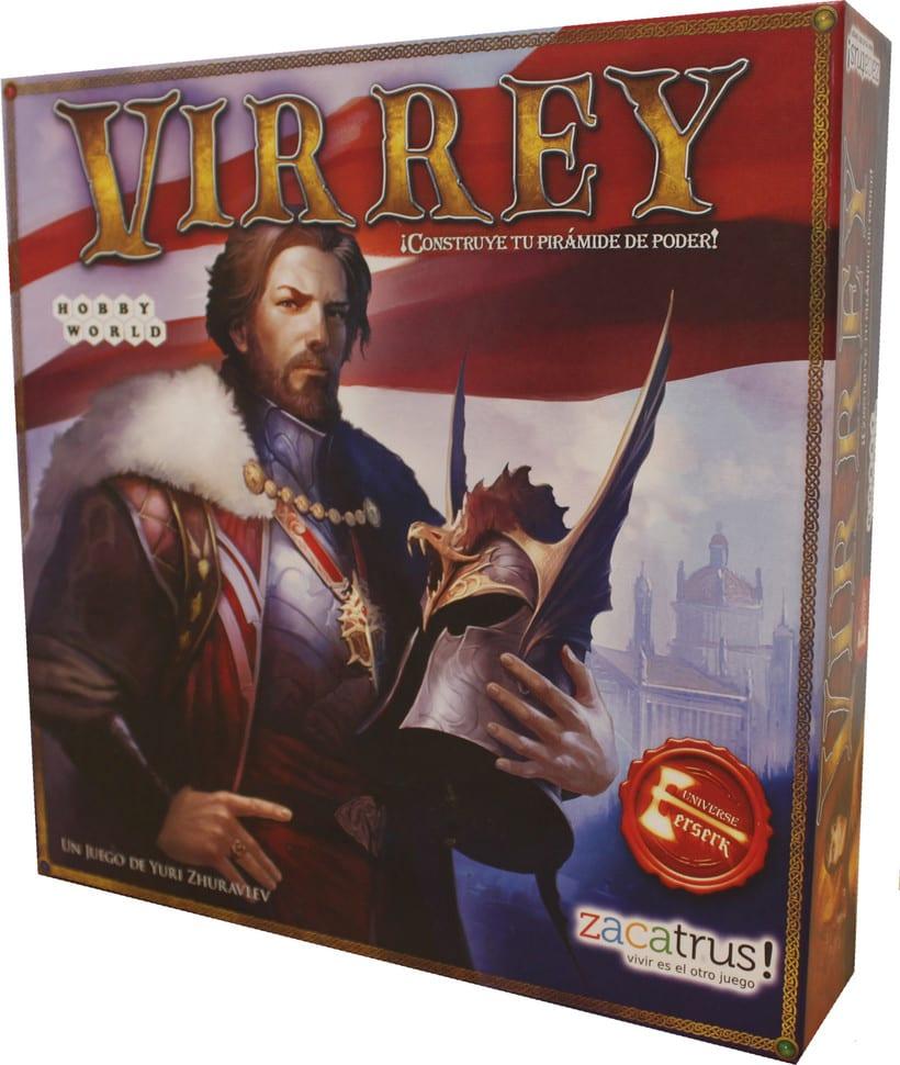 Virrey - Maquetación-adaptación-juego de mesa 1