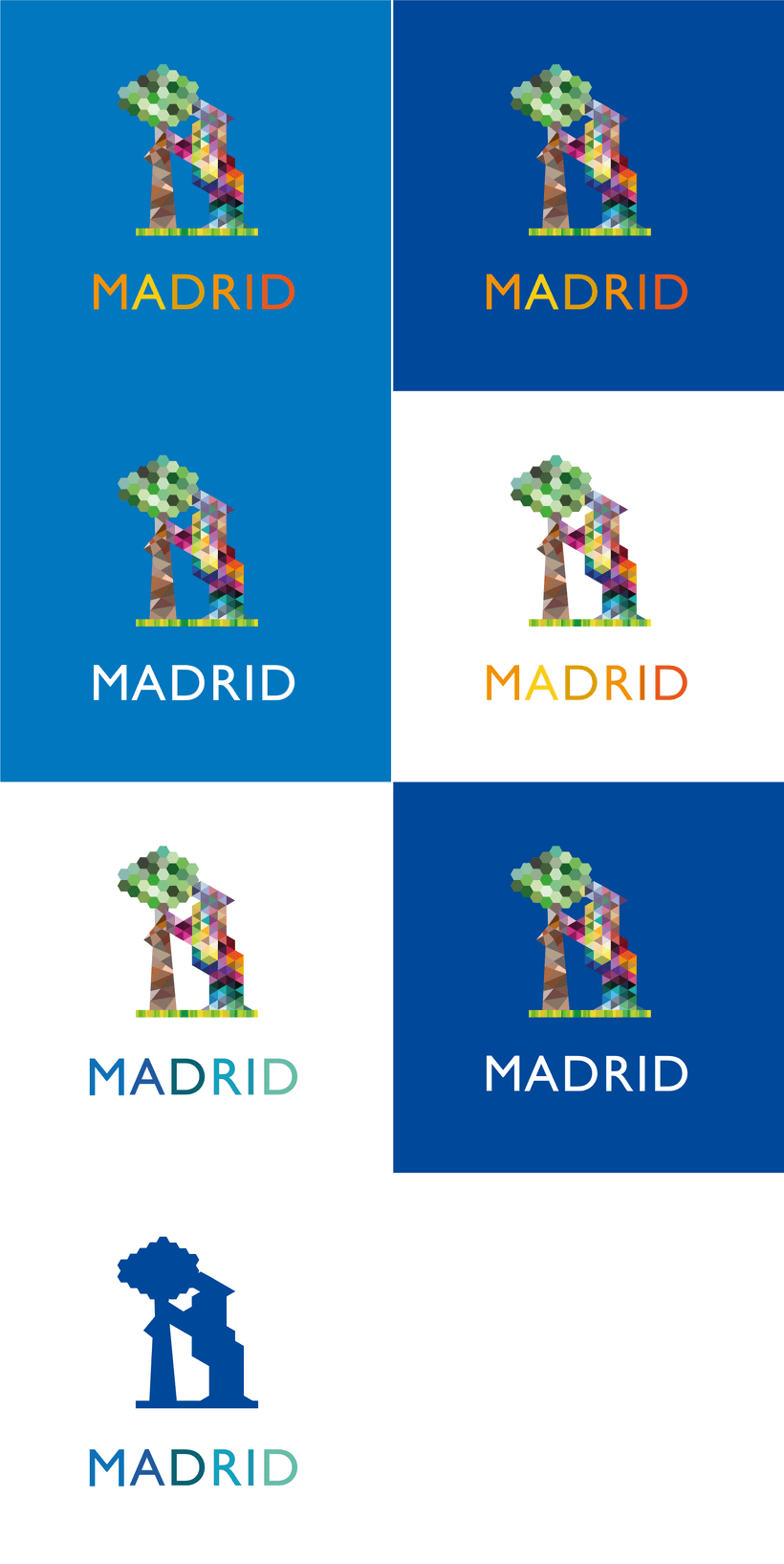 Branding Identity - Madrid 1