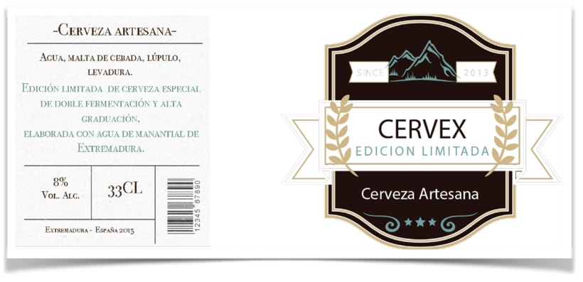 Packaging CERVEX 5