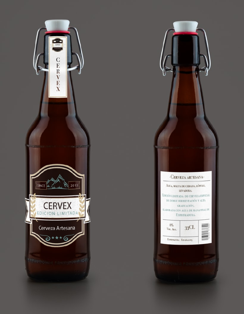 Packaging CERVEX 7